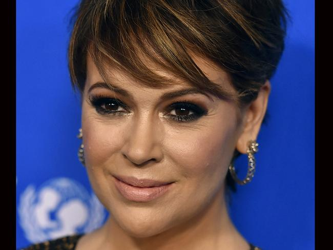 Alyssa Milano prompted many others to speak out after she urged the use of #metoo online. Picture: Jordan Strauss/Invision/AP.