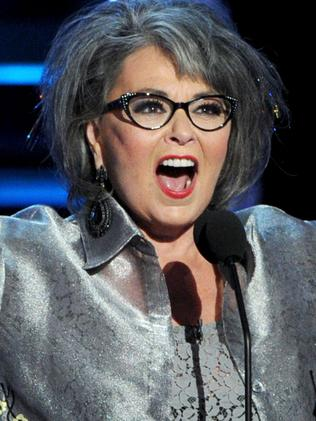 Star of the TV show, Roseanne Barr. Picture: Getty