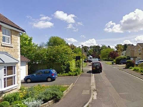 The Wiltshire home where Ellie Gould was found murdered. Picture: Google maps