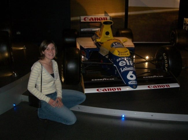 Working in Formula One was 'exciting', said Reid, but it wasn't what she expected.