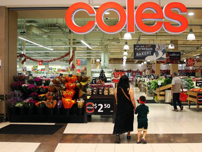 Coles is under fire for its management practices. Picture: Aaron Francis/The Australian
