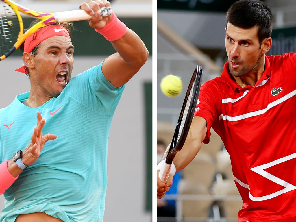 Rafael Nadal and Novak Djokovic will face off in the French Open final.