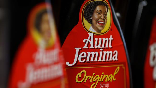 Aunt Jemima was 'based on a racial stereotype'. Picture: Justin Sullivan/Getty Images/AFP