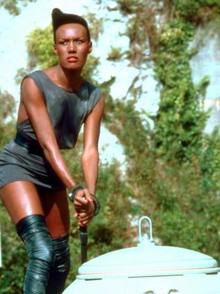 Jones in 1985's Bond film A View To Kill.