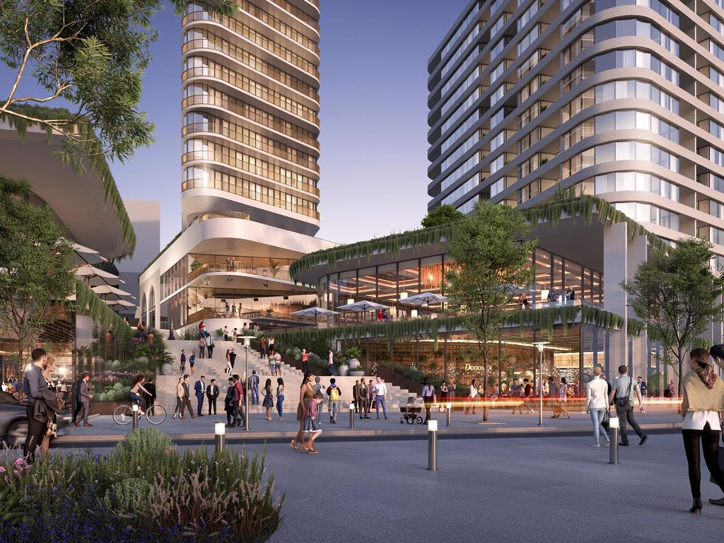 St Hilliers finalise Masterplan DA for Central Coast Quarter.