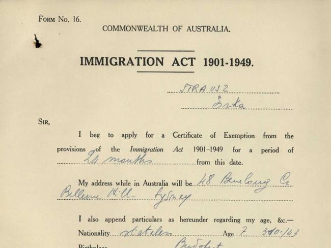 Josh Frydenberg says this document proves he is not a dual citizen.