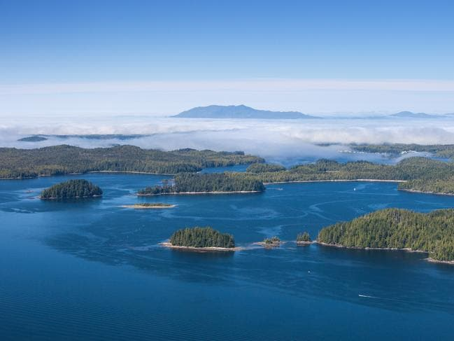 Haida Gwaii Islands, off the coast of Canada, are just as special.