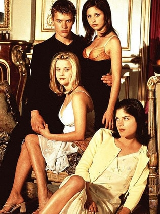 Blair, bottom right, in teen hit Cruel Intentions.