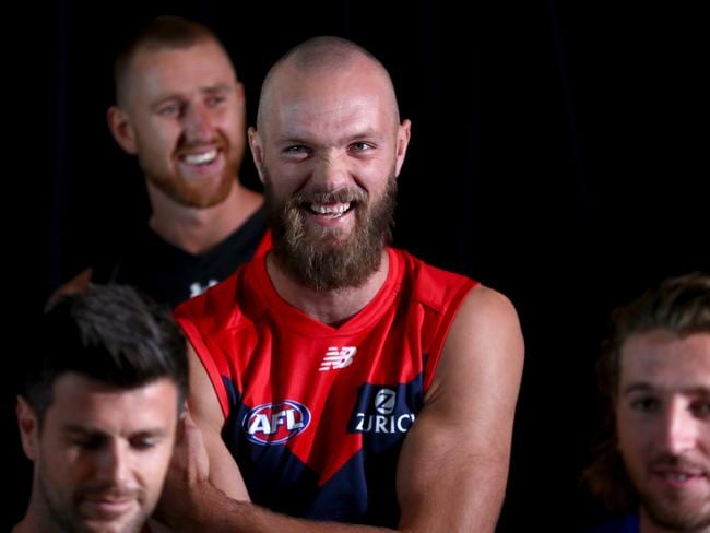 Max Gawn. (Photo by Kelly Defina/Getty Images)