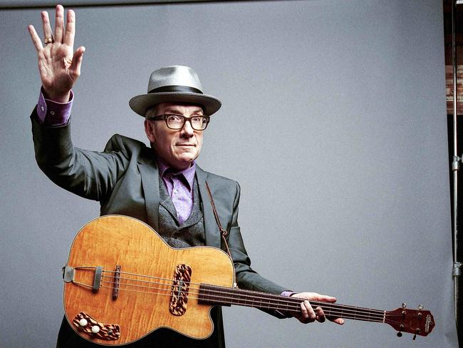 Elvis Costello was due to play in Croatia, Austria, Norway and Sweden. Picture: Supplied