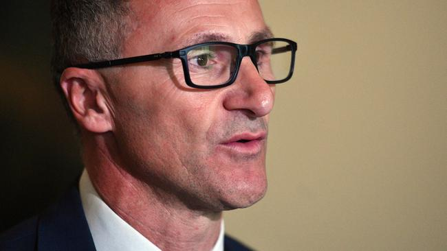 Greens leader Richard Di Natale. Picture: AAP/Mick Tsikas