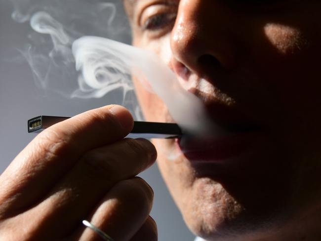 The US Food and Drug Administration has announced it will 'accelerate the review of e-cigarettes and other new tobacco products'. Picture: Eva Hambach / AFP