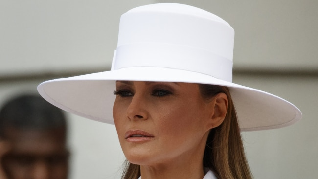 The First Lady usually takes her fashion very seriously. Image: AP.
