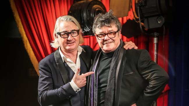 INXS manager Chris Murphy and bandmates including Tim Farriss will cooperate with the documentary makers. Picture Craig Greenhill