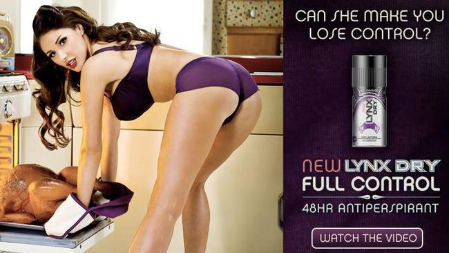 Another Lynx ad that was banned in the UK.