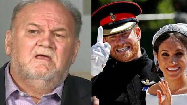 Meghan's father, Thomas Markle, did not attending the royal couple's wedding. Picture: Supplied