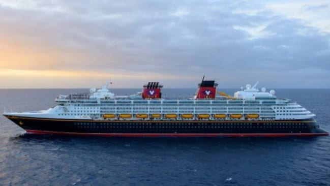 Rebecca Coriam was said to have fallen from the Disney cruise ship Wonder. Picture: Disney