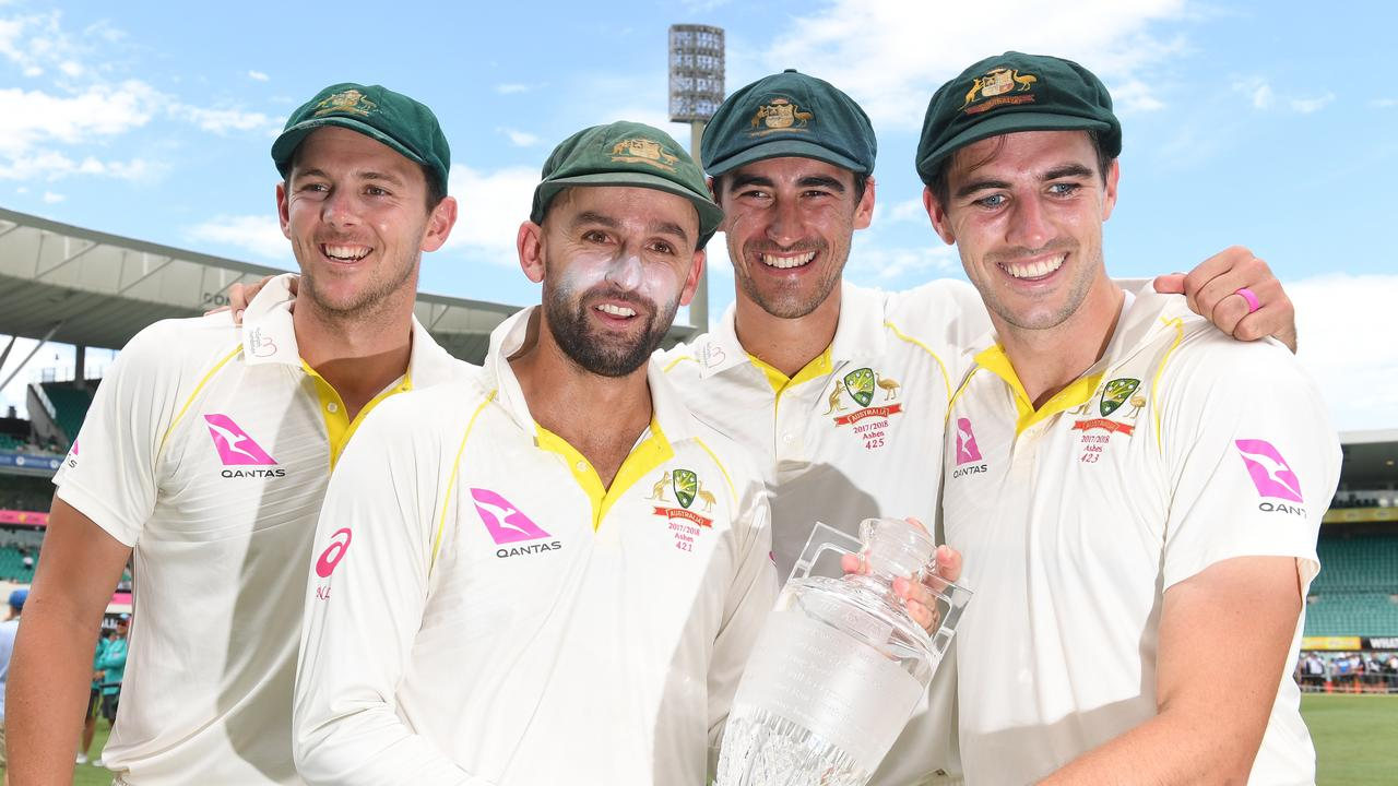 Australia's attack each took more than 20 wickets in the Ashes.