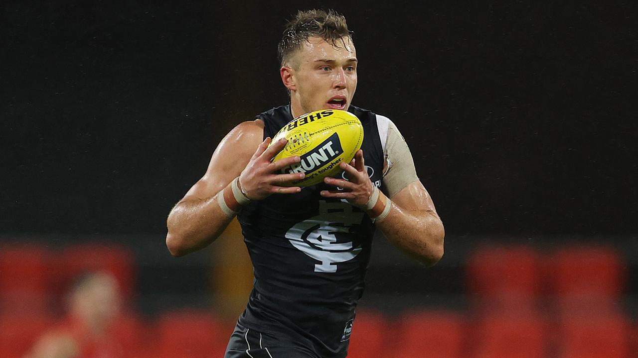 Patrick Cripps is contracted to the Blues until the end of 2021. Picture: Michael Klein