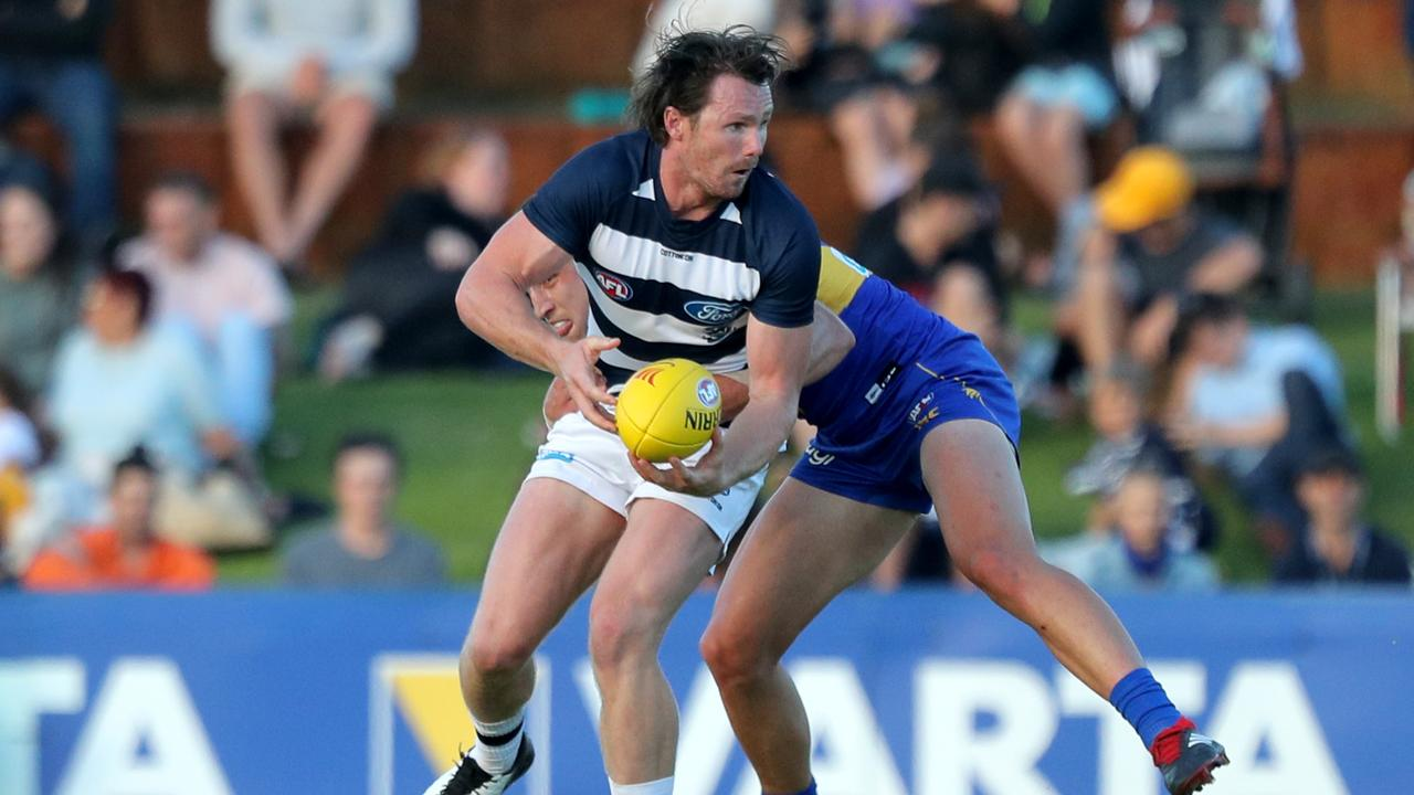 Patrick Dangerfield of the Cats looks certain to remain a SuperCoach favourite