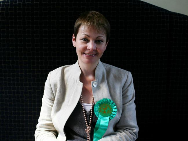 UK Green Party leader Caroline Lucas took to Twitter to slam British PM Theresa May. Picture: Supplied