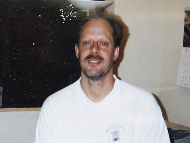 Las Vegas gunman Stephen Paddock. Picture: AP
