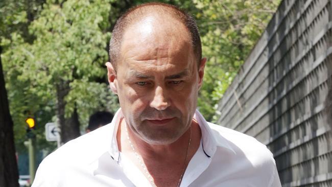 John Tomic, father of Bernard Tomic. Picture: Ella Pellegrini