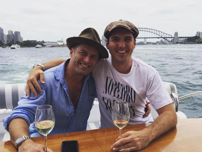 "Viewers weren't happy about Karl Stefanovic's ""hipster hat"" either. Picture: Instagram"