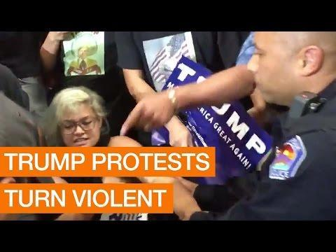 DECISION 2016: Trump Protests Turn Violent Package May 24