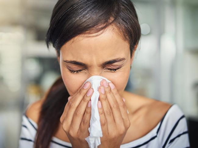 Research shows a person is six times more likely to have a heart attack the week after having the flu. Picture: Supplied