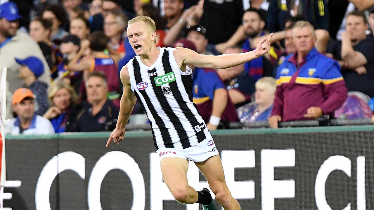 Jaidyn Stephenson of Collingwood.