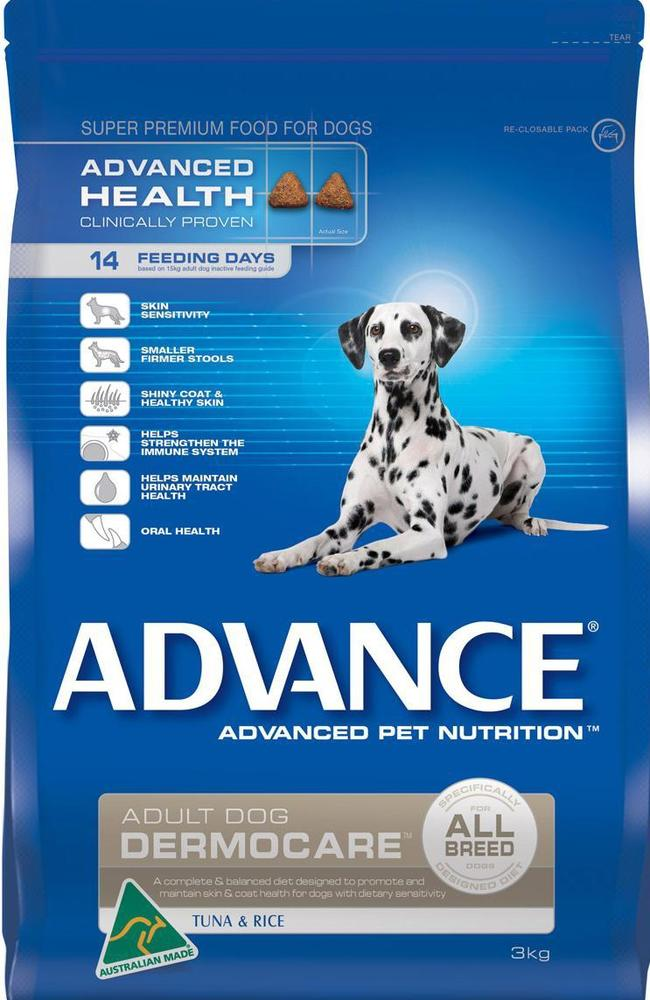 Advance Dermocare dry dog food is being recalled.