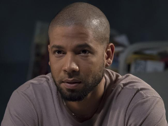 Sources allege actor/singer Jussie Smollett paid two brothers $4000 not for a racist attack but for a fitness regimen. Picture: Chuck Hodes/FOX via AP