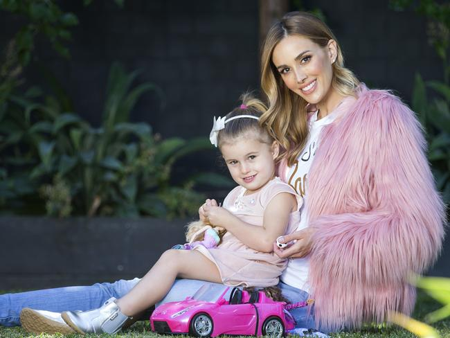 Bec Judd spared no expense on her daughter Billie's fifth birthday this year.