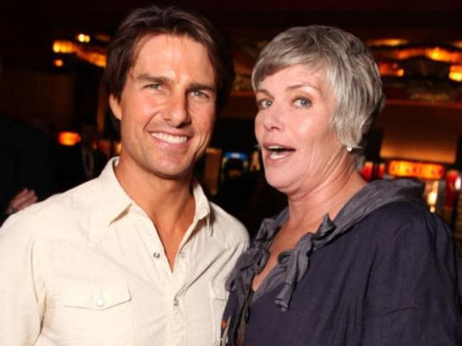 Tom Cruise and Kelly McGillis in 2010.