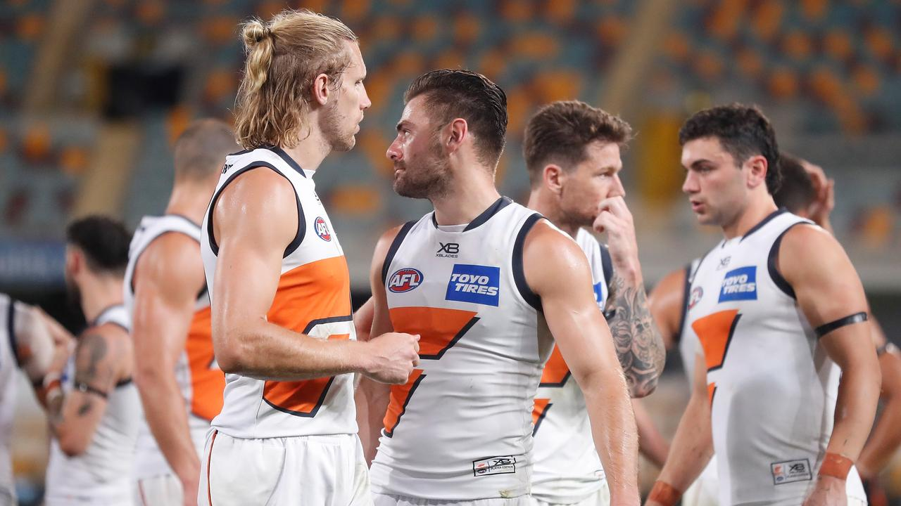 The Giants missed the finals this year, but they have plenty of talent on the list, and took two players in the top ten of the draft in 2019. (Photo by Michael Willson/AFL Photos via Getty Images)