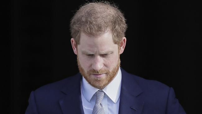 The decision is a blow to Prince Harry. Picture: AP Photo/Kirsty Wigglesworth