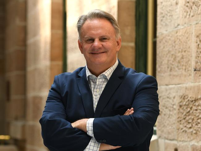After a string of controversies, is this a triumphant return to politics for Mark Latham? Picture: Dan Himbrechts/AAP