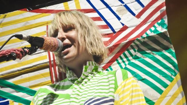 The last time Australia saw Sia do a full set was at the Big Day Out in 2011. Picture: News Corp Australia.