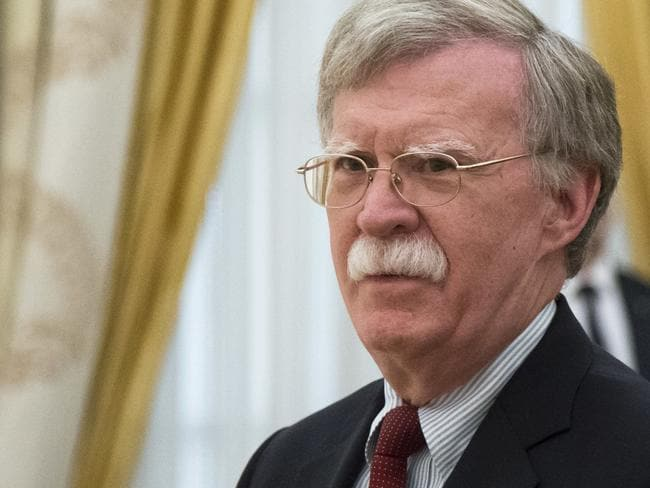 US National security adviser John Bolton is in Russia for talks. Picture: AP