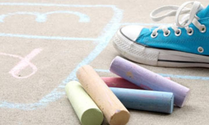 how to play hopscotch teach the kids this traditional game kidspot
