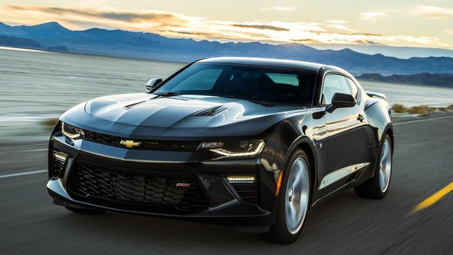 Mustang rival: HSV is importing and converting the Chevrolet Camaro. Picture: Supplied.