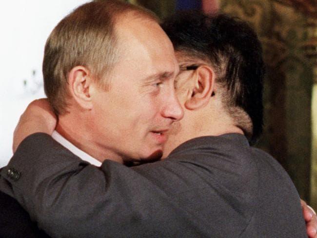 Mr Putin also met Kim Jong-il at the Kremlin in 2001.