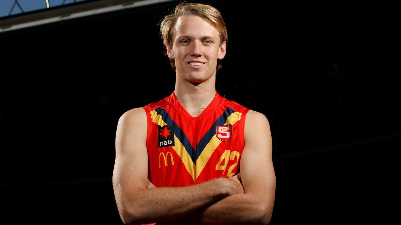 Jack Lukosius of South Australia is set to be taken in the top five of the draft.