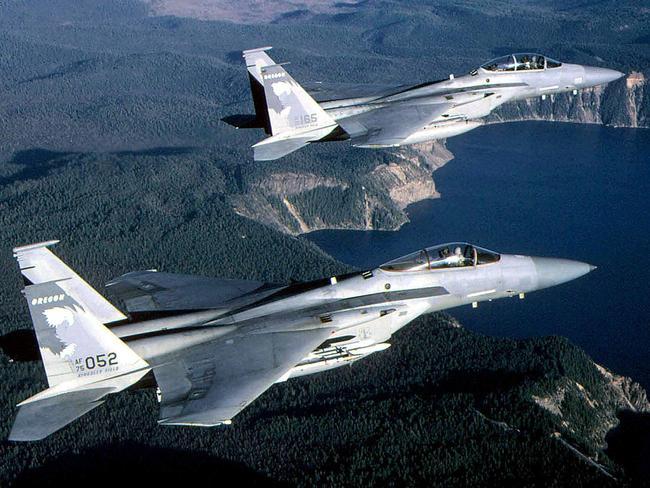 Risultati immagini per UFO F-15