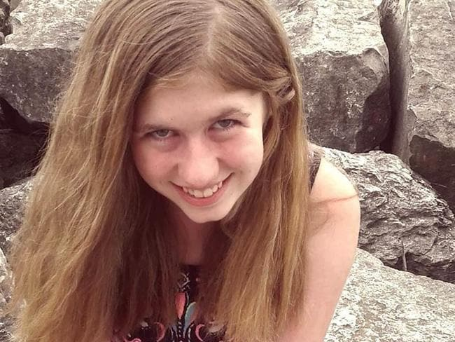 Young Jayme was found alive, 88 days after her parents were found shot in their home. Picture: Barron County Sheriff's Department