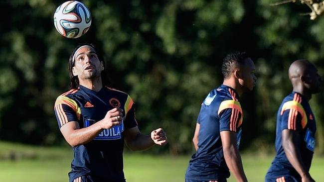Colombia striker Radamel Falcao couldn't get fit in time.