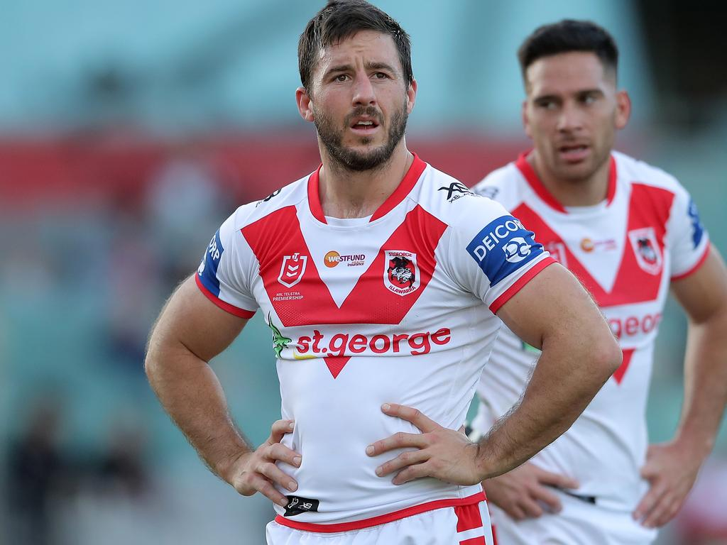 NRL Rd 18 - Dragons v Raiders