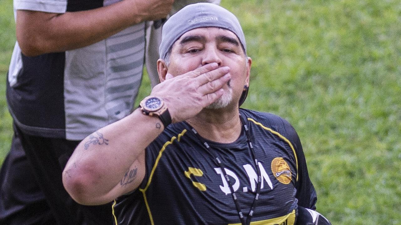 Guardiola stated Maradona's death has affected Aguero