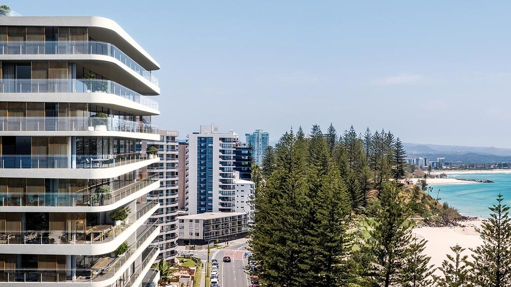 Artist impression of Flow Residences at Rainbow Bay.